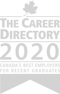 The Career Directory 2020 Canadas Best Employer for Recent Graduates award.