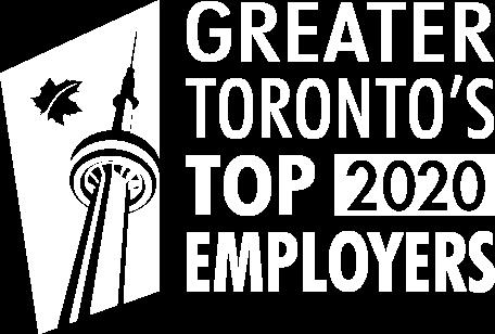 Greater Toronto's Top 2020 Employers award.