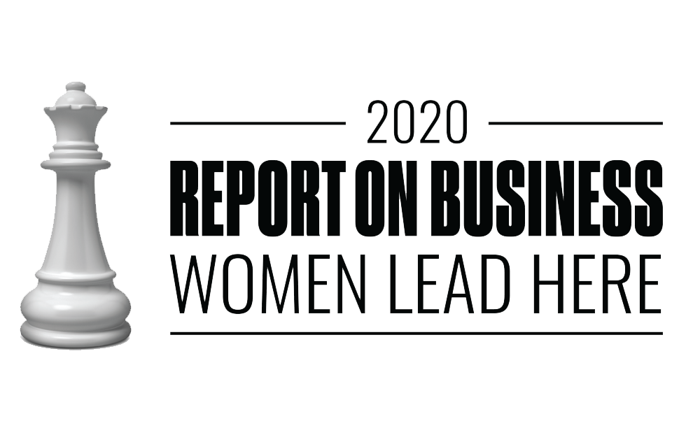 Report on Business, Women Lead Here 2020 logo