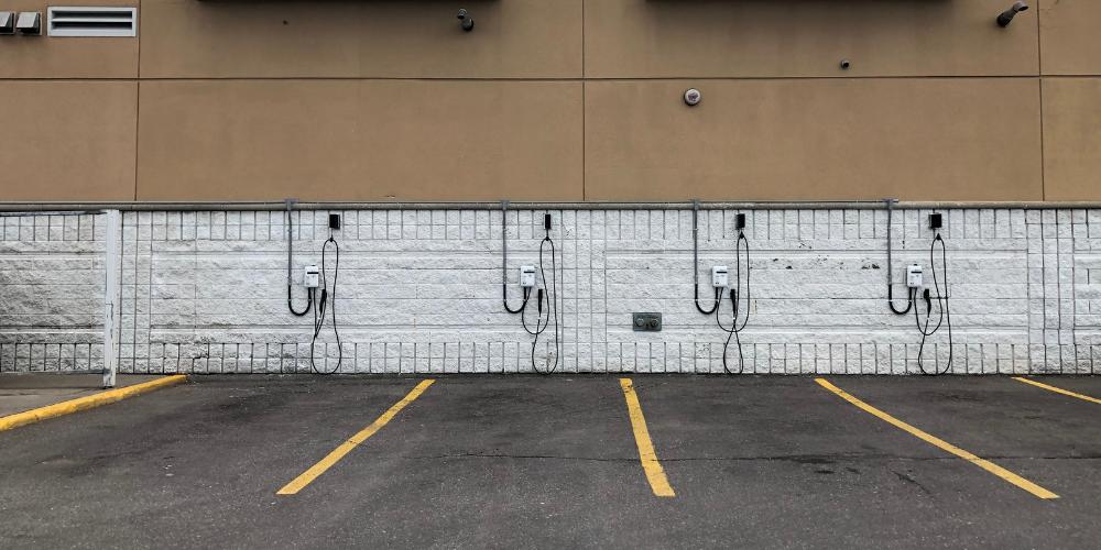 Cedarbrae EV chargers
